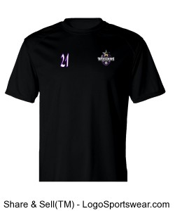Delaware Wizards Training T-shirt Design Zoom